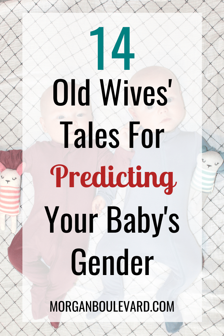 old wives tales for baby gender