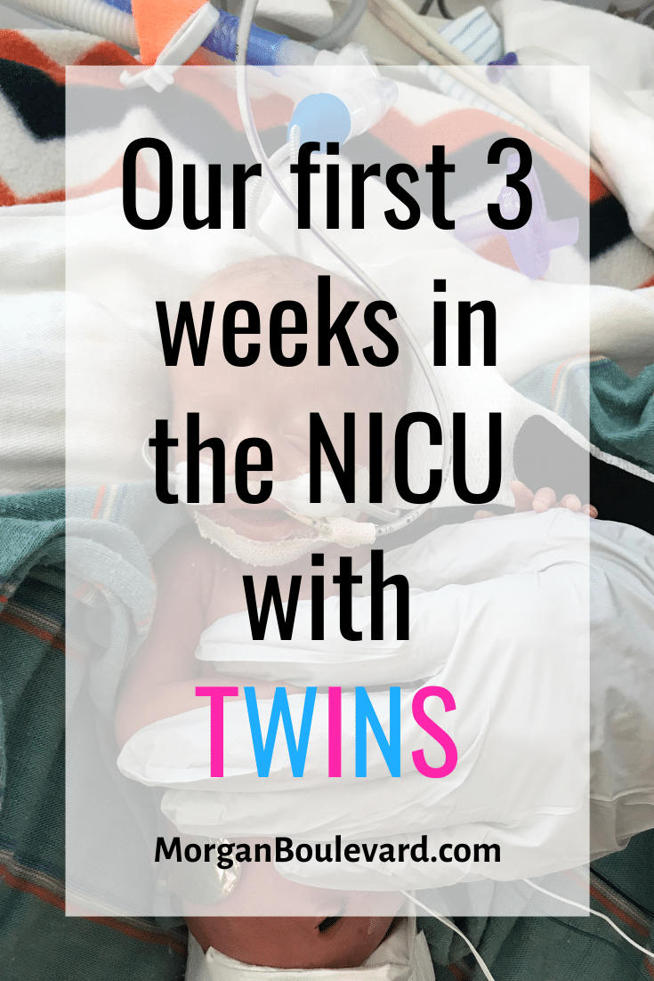 first 3 weeks in the NICU