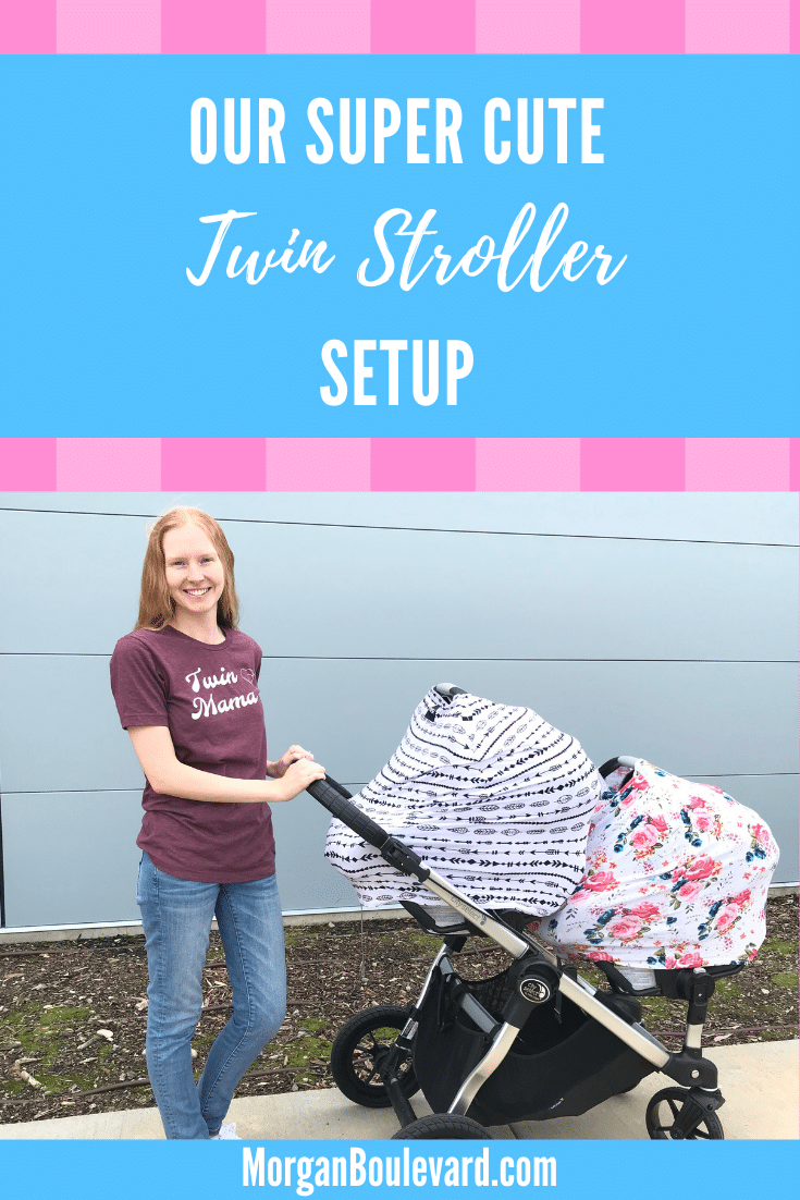 Double Stroller With Car Seats For Twins