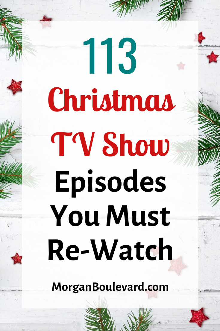 christmas tv show episodes