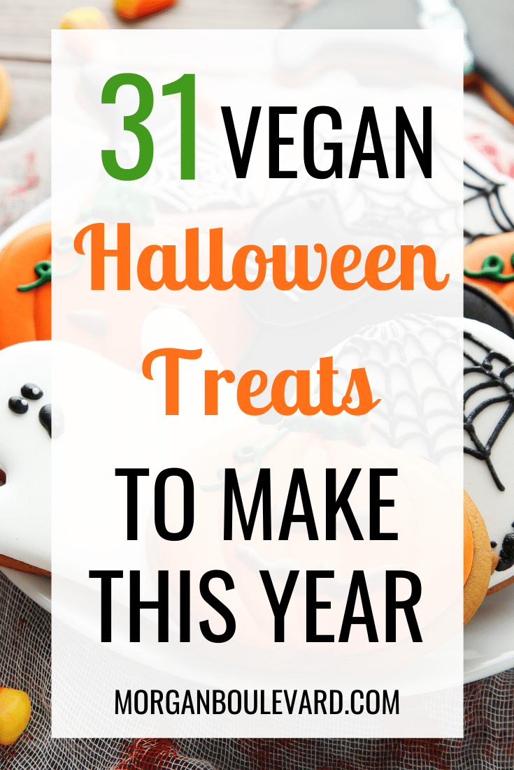 vegan halloween treats
