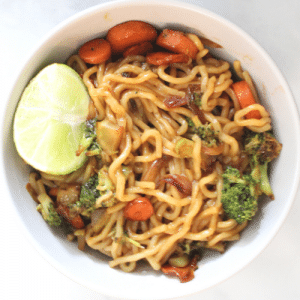 vegan ramen stir fry recipe
