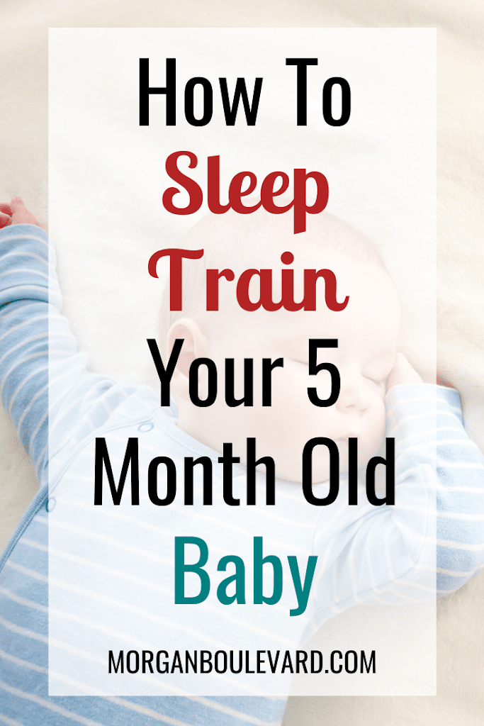 sleep training for 5 month old baby
