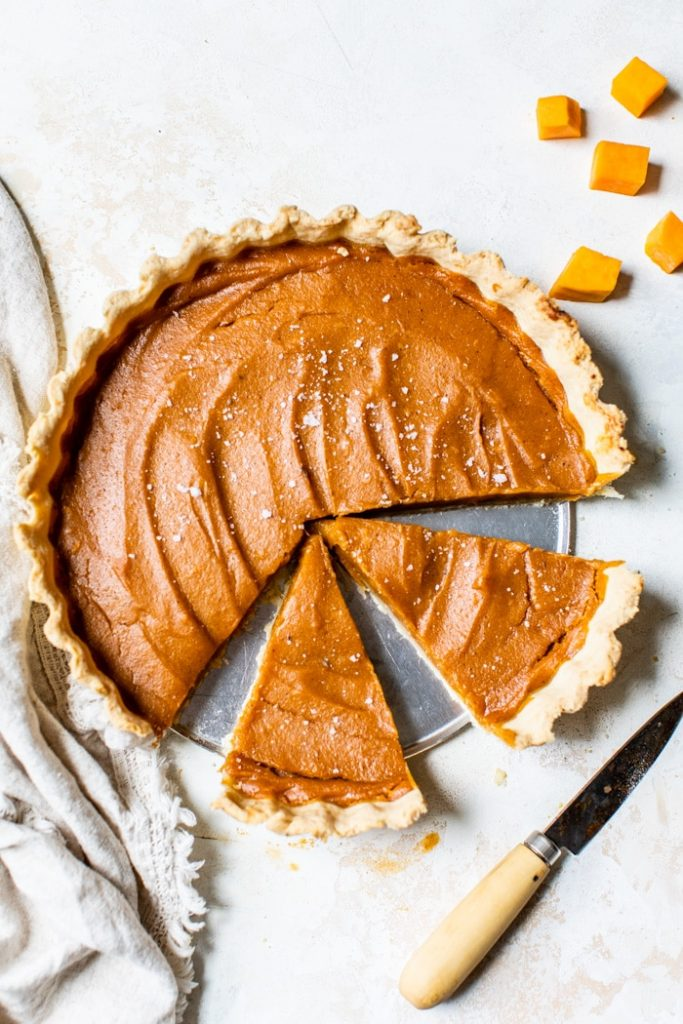 Recipe for vegan sweet potato pie