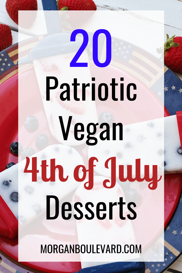 vegan 4th of july desserts