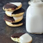 vegan black and white cookies