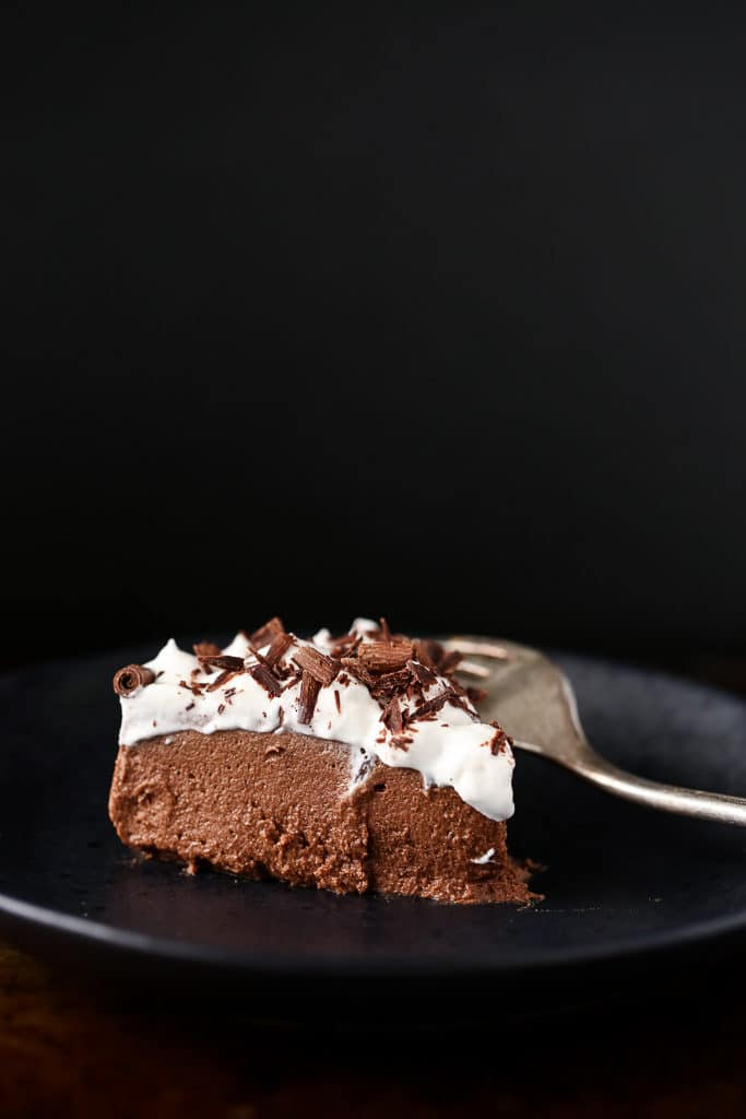 recipe for vegan french silk pie