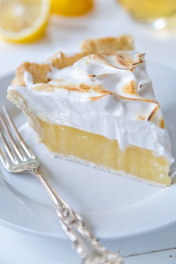 Recipe for vegan Lemon Meringue Pie
