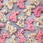 vegan bunny cookies