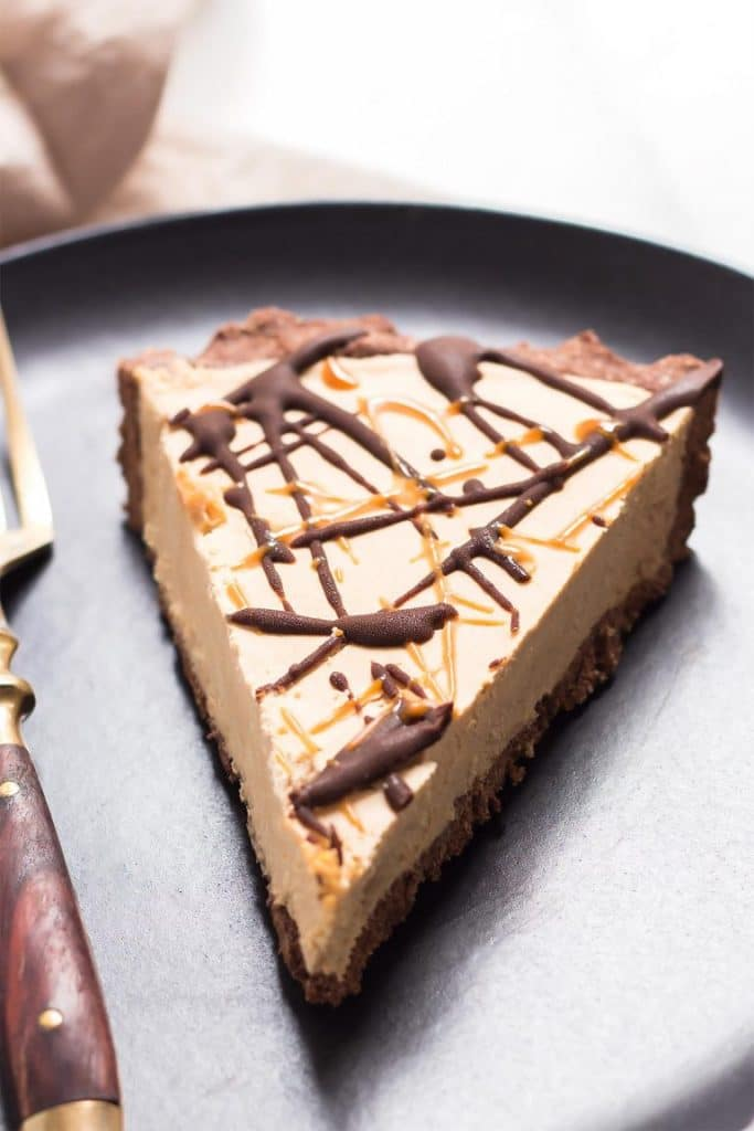 Recipe for vegan peanut butter pie