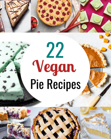 vegan pie recipes