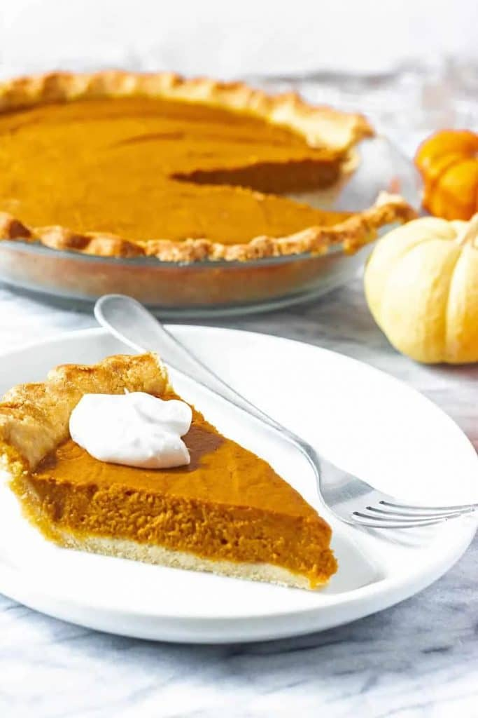 recipe for vegan pumpkin pie