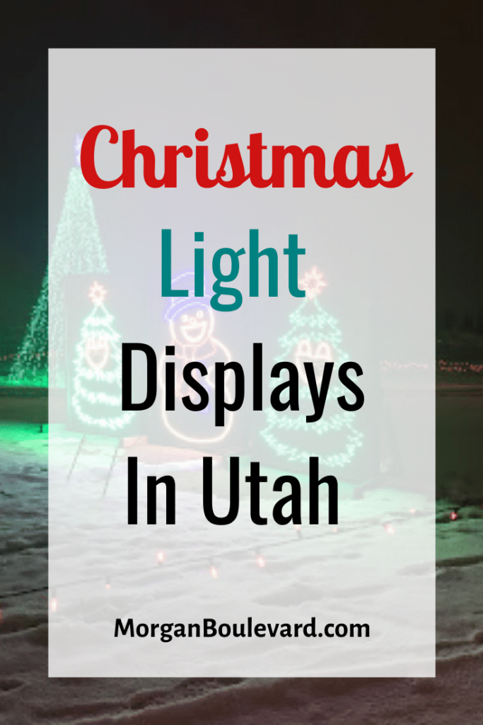 christmas light displays utah