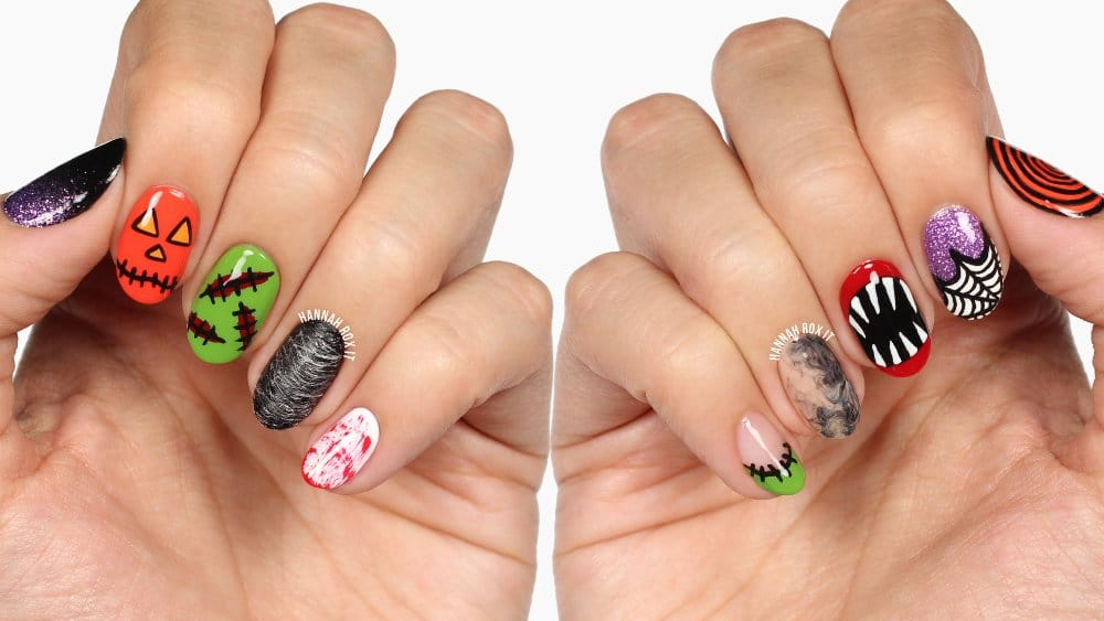 10 different ways to do your Halloween nails