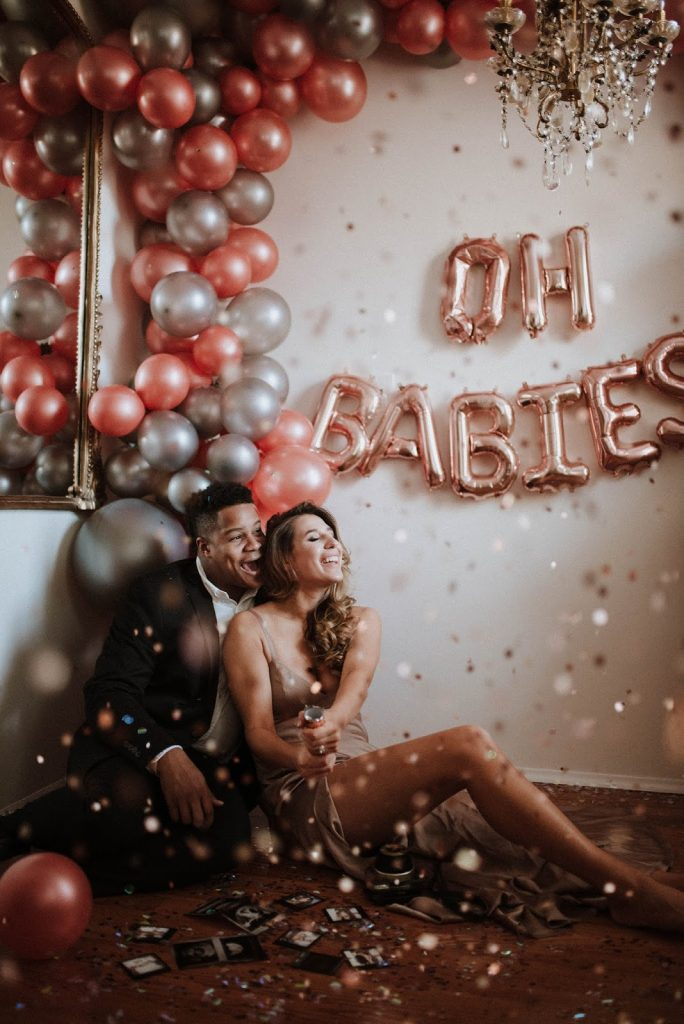 oh babies twins balloons