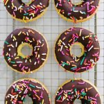 vegan Baked Donuts With Chocolate Frosting