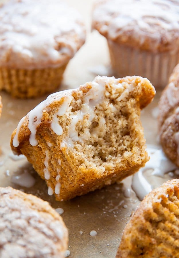 Recipe for vegan Cinnamon Sugar Muffins