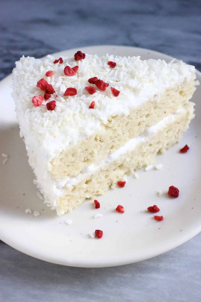Recipe for vegan Coconut Cake