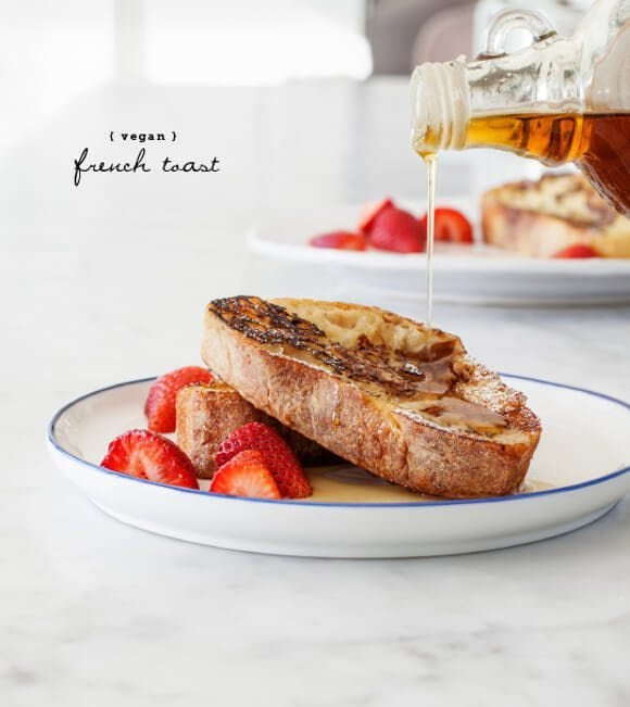Recipe for vegan french toast