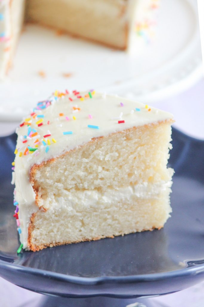 Recipe for Vanilla Cake