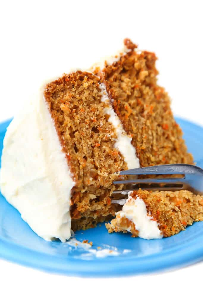 Recipe for vegan carrot cake