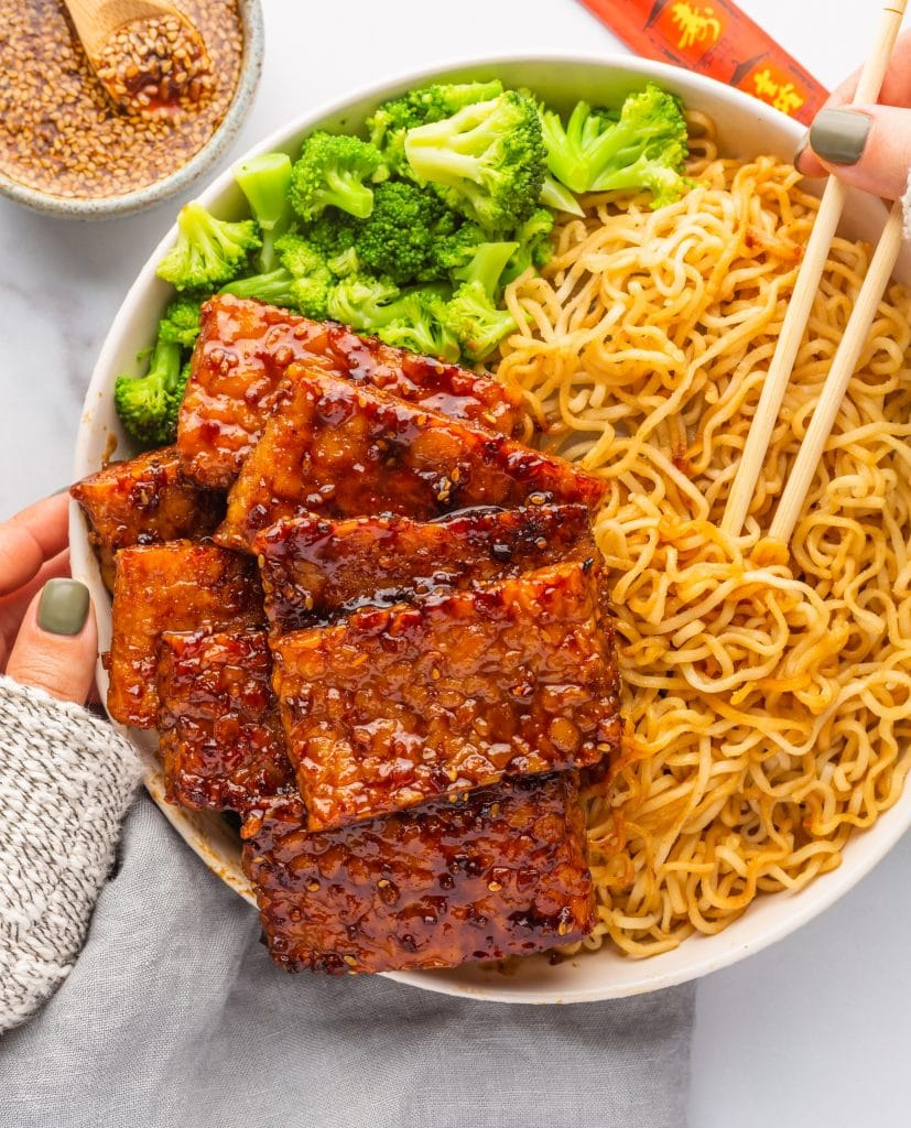 Recipe for vegan Chinese BBQ Ribs