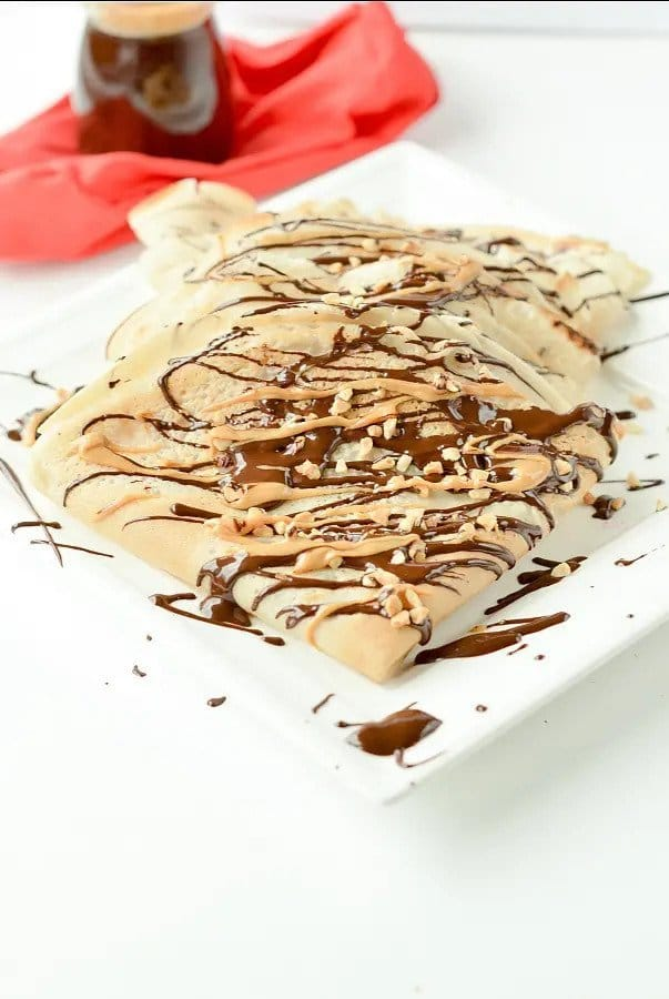This recipe for crepes is one of the vegan breakfast recipes in this post.