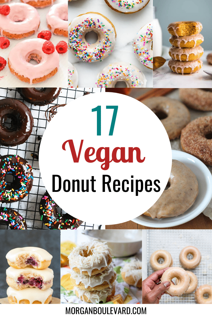 17 Vegan Donut Recipes To Make Your Day Better