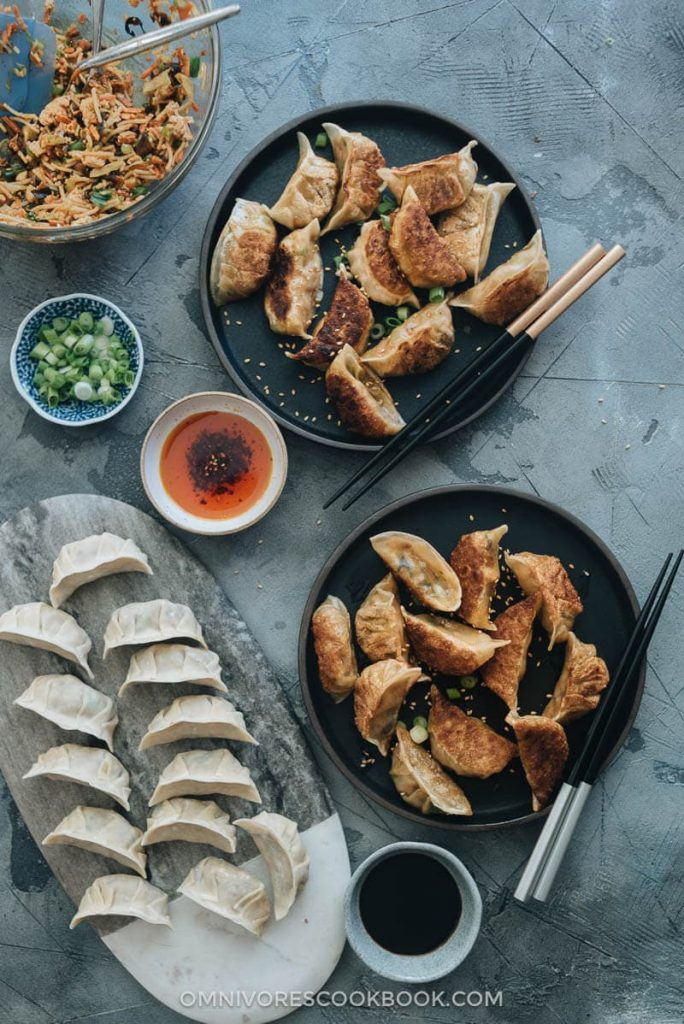 Recipe for vegan dumplings