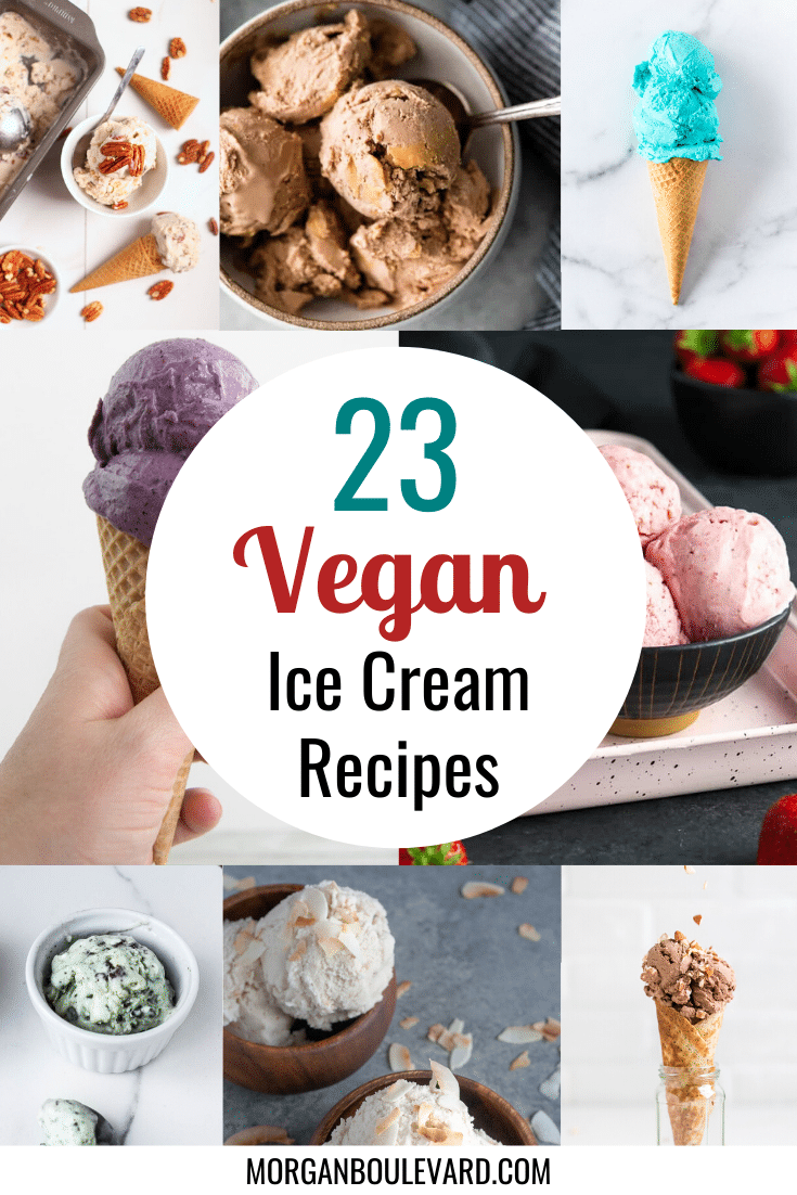 23 Vegan Ice Cream Recipes To Start Making At Home