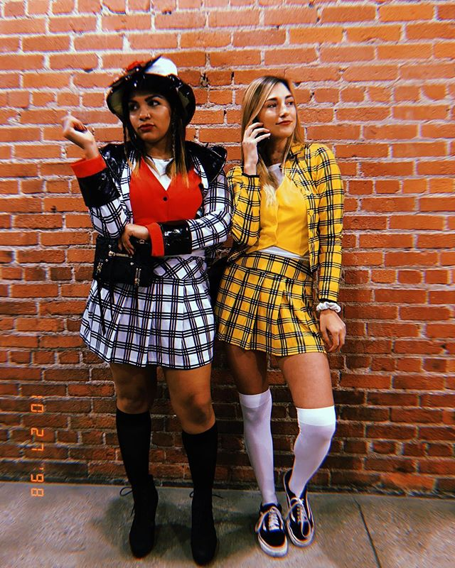 Cher and Dionne costumes from Clueless