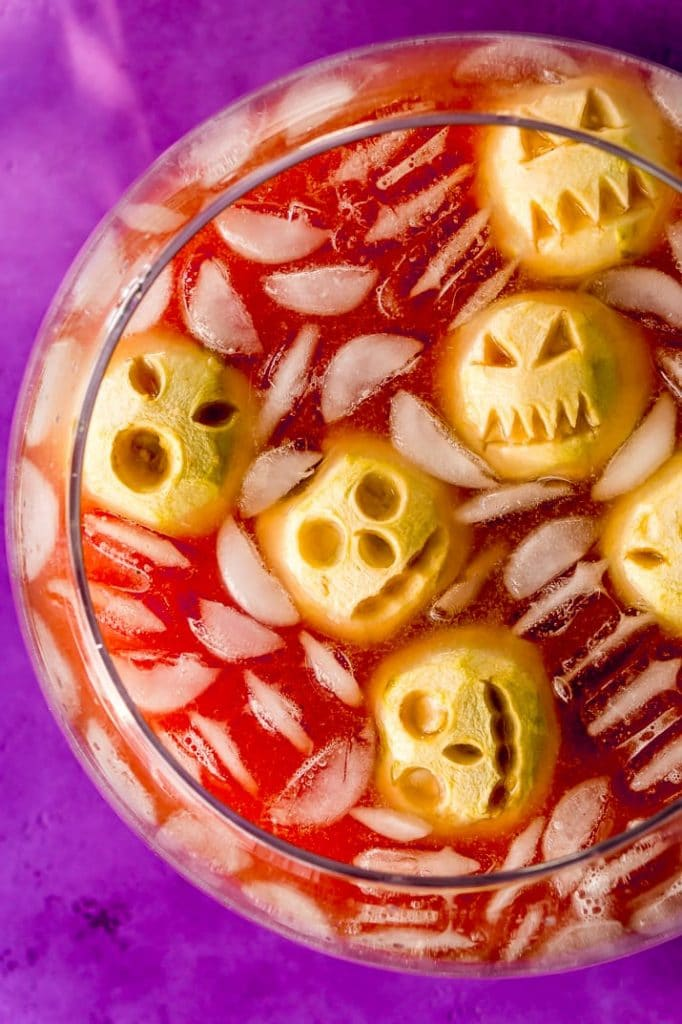 Recipe for Shrunken Head Party Punch