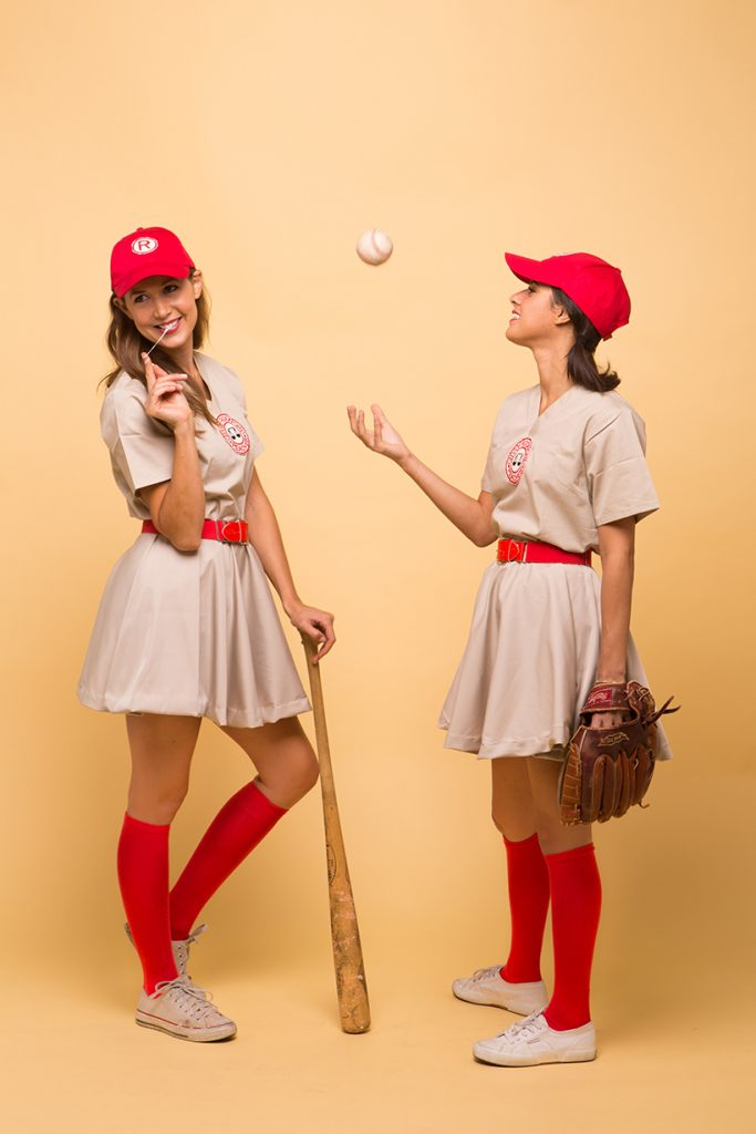 Baseball player costumes