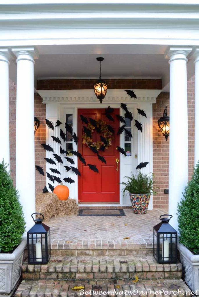 Decorate your porch with lots of bats