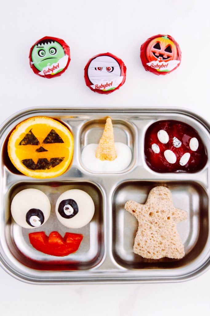 Recipe for Bento Box With Ghost Sandwich