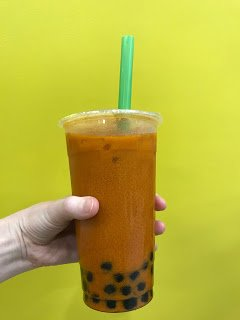 vegan thai boba tea