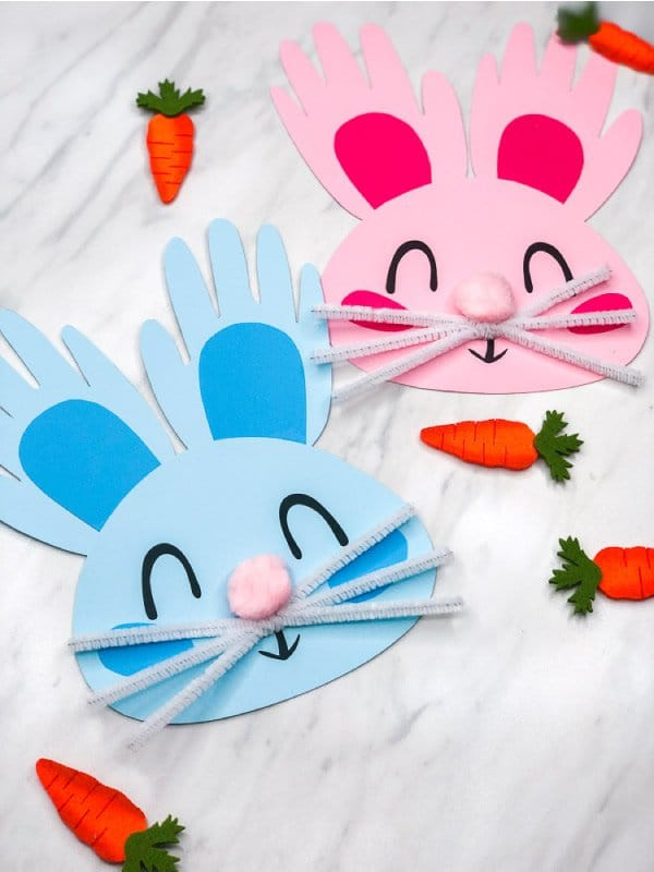 Easter bunny craft you can do with your kids