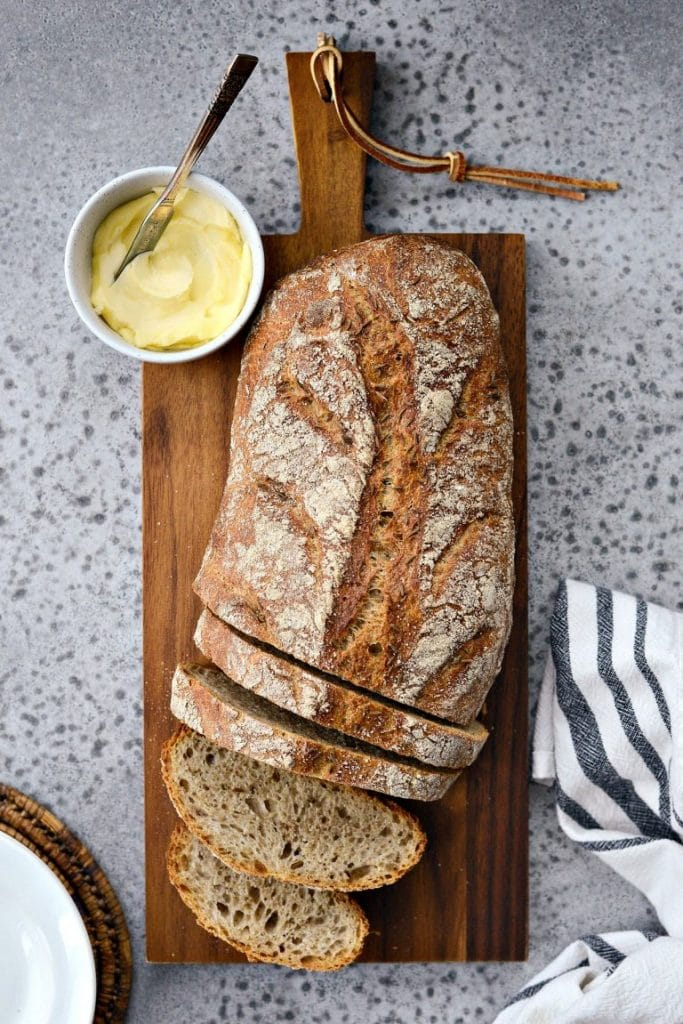 This recipe for rye bread is one of the vegan bread recipes in this post.