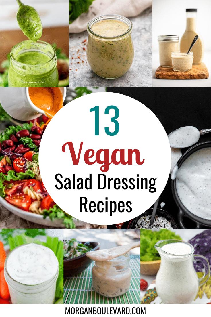 vegan salad dressing recipes
