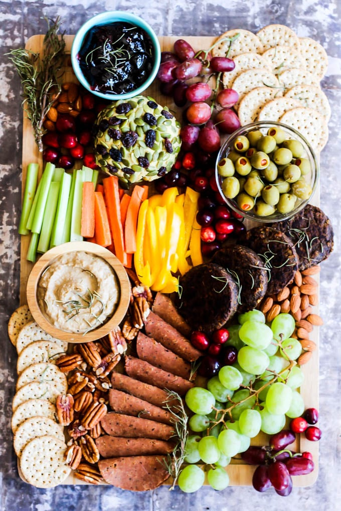 Vegan Meat and Cheese Charcuterie Board