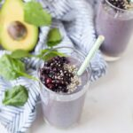 vegan energy boosting smoothie