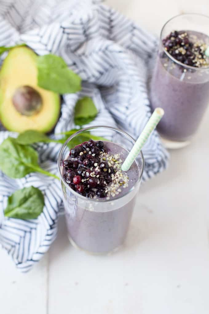 Recipe for vegan Energy Boosting Smoothie