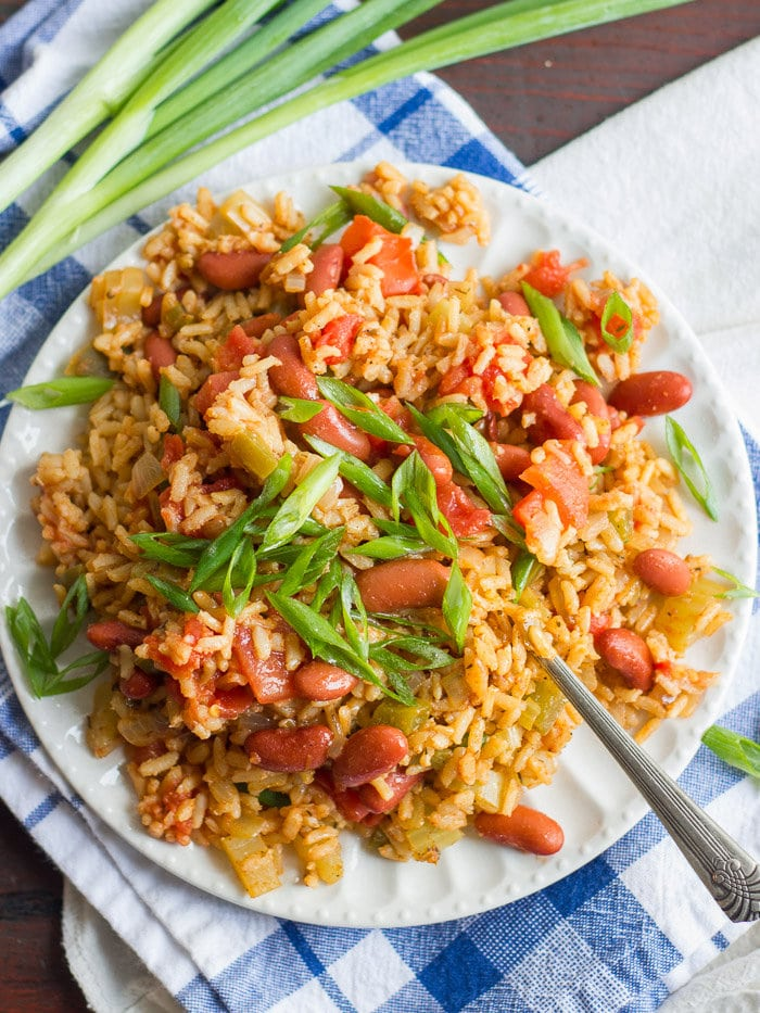 Recipe for vegan Jambalaya