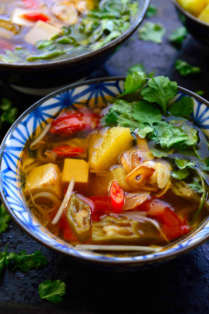 Vegan Sweet and Sour Soup