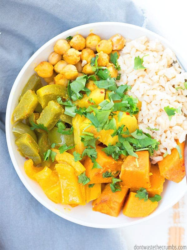 Recipe for vegan Thai Pineapple Curry