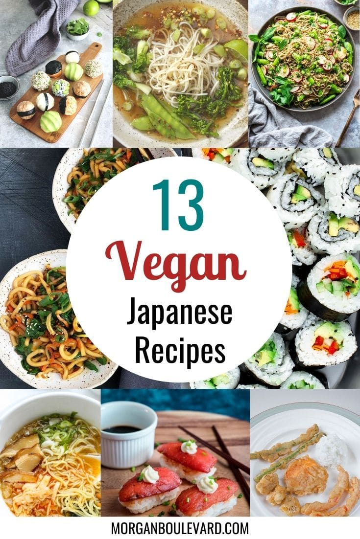 13 Vegan Japanese Recipes That Taste As Good As They Look