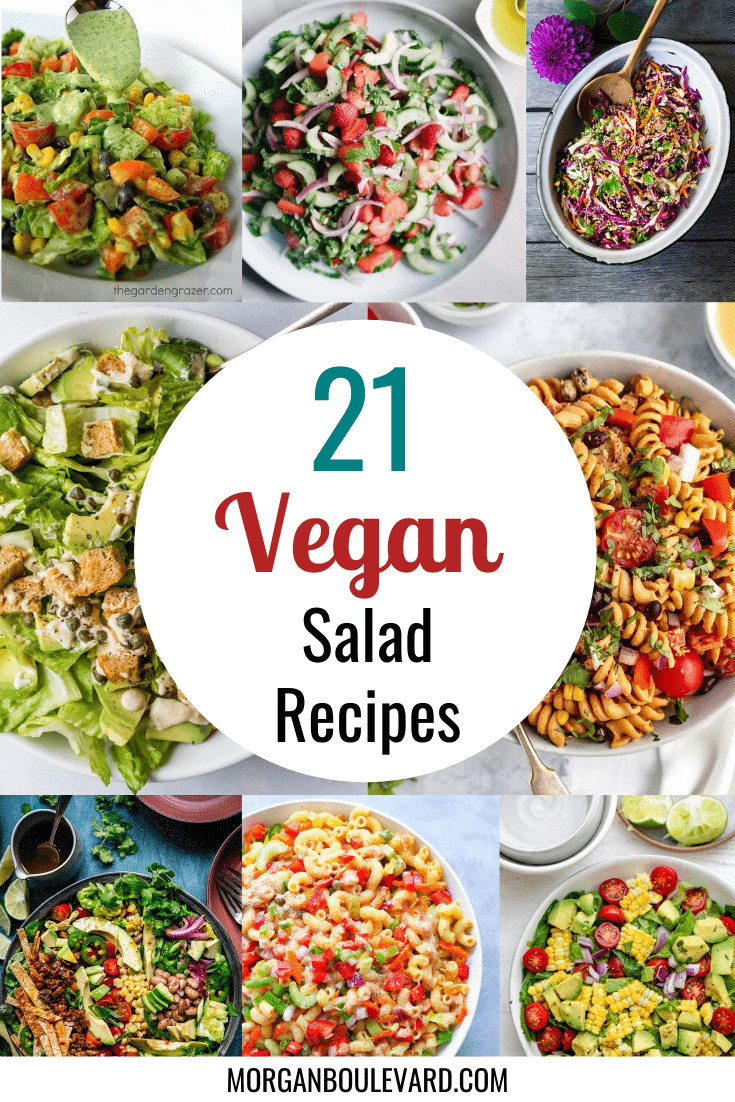 21 Vegan Salad Recipes To Try This Month