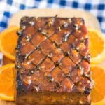 vegan glazed tofu roast