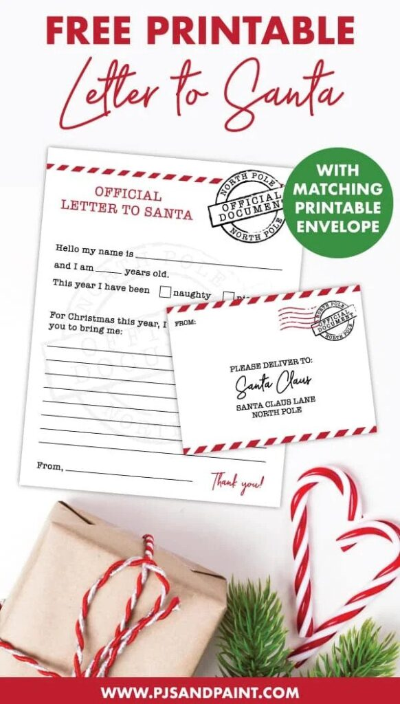 mail letters to santa