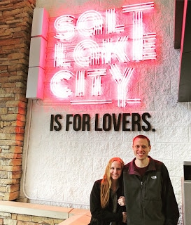 salt lake is for lovers sign